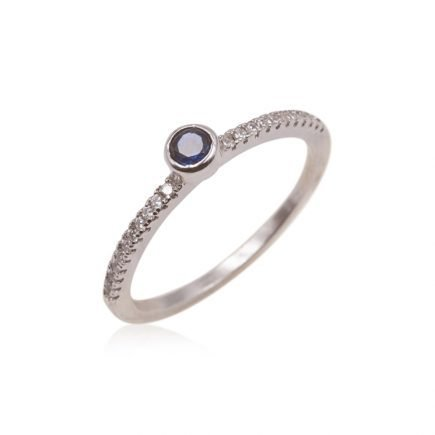 BLUE-SILVER-RING