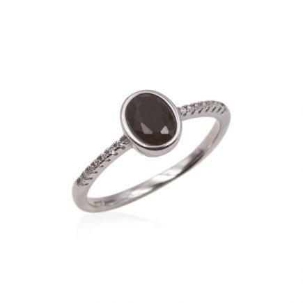 SILVER-BLACK-RING