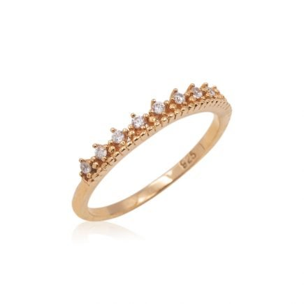 GOLD-CROWN-SILVER-RING